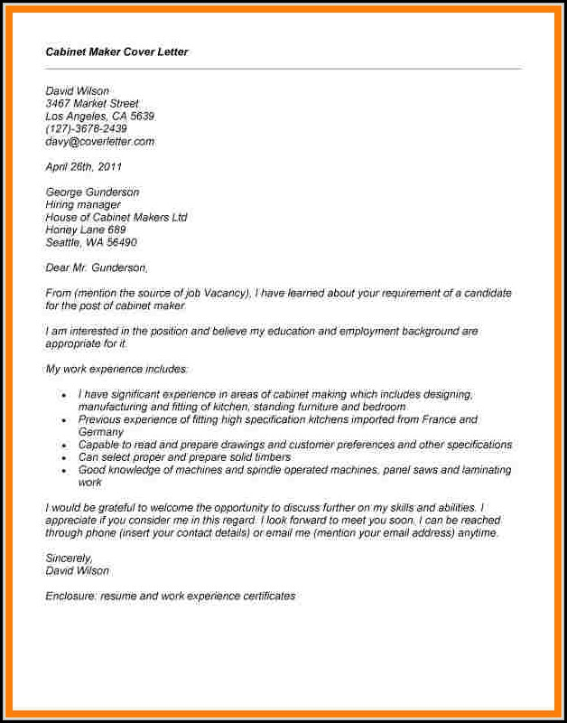 Cover Letter Maker Free Download
