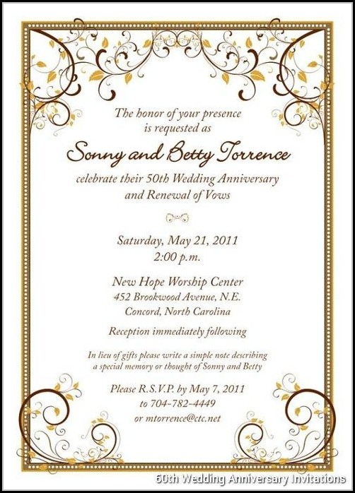 60th wedding anniversary invitations free templates template 1