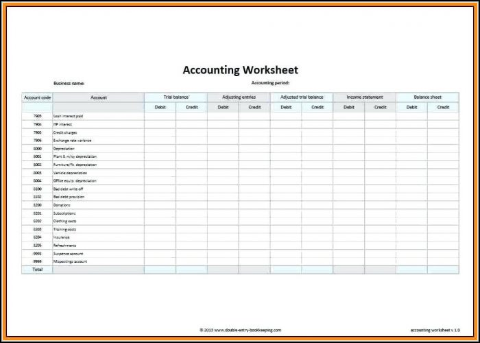 Accounting Ledgers Templates