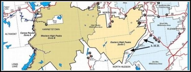 Adirondack Trail Map Pdf