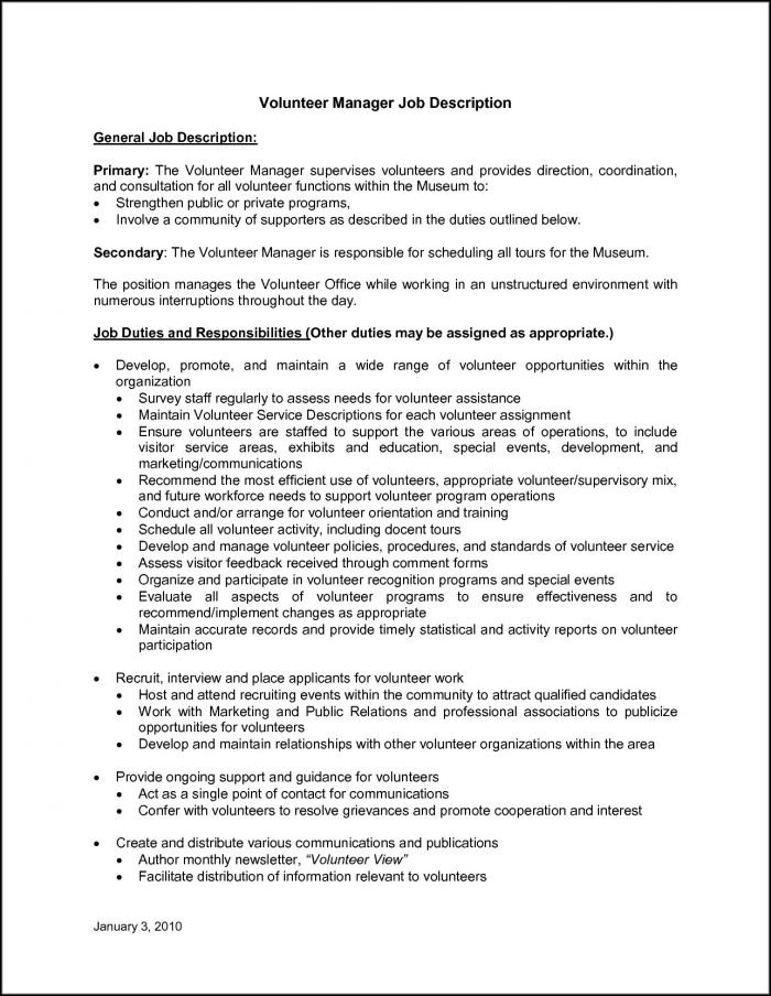Animal Shelter Job Application