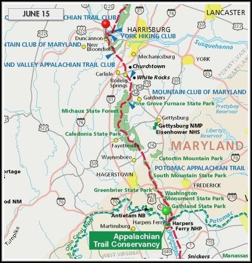 Appalachian Trail Map Vermont - Map : Resume Examples #q78QqmA8g9