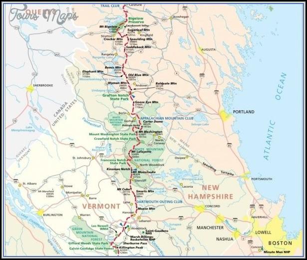 Appalachian Trail Map Virginia