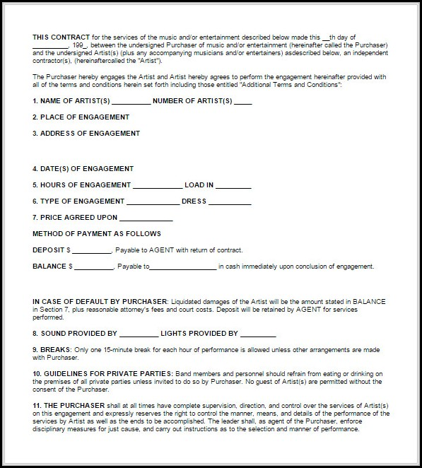 Blank Roofing Contract Template Template 1 Resume Examples