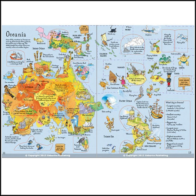 Atlas Map Book