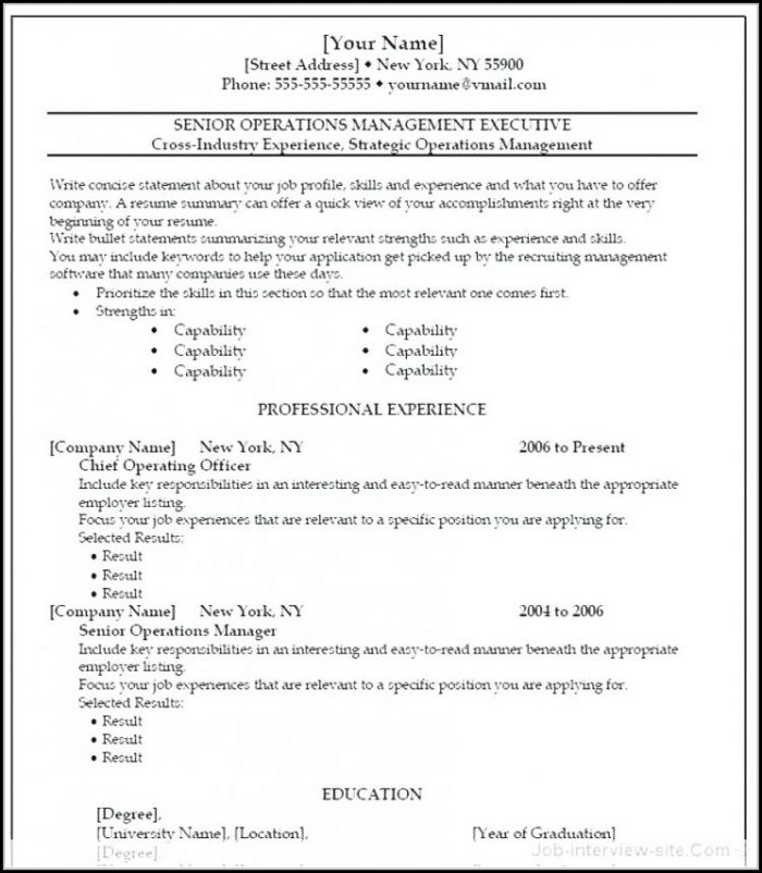 Best Free Resume Templates Reddit