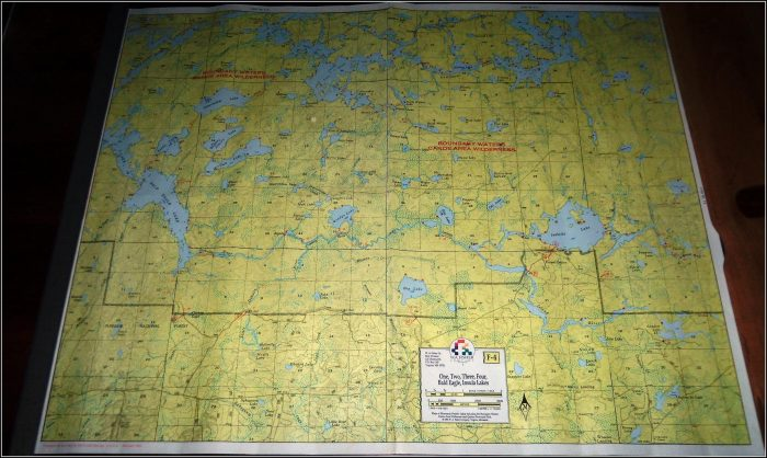 Boundary Waters Maps For Sale