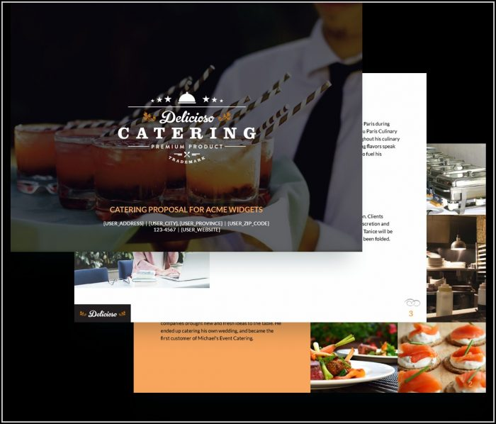 Catering Proposal Template Free