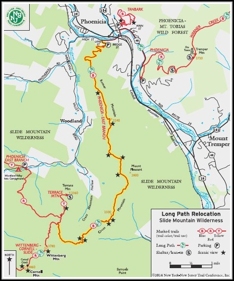 Catskills Hiking Maps
