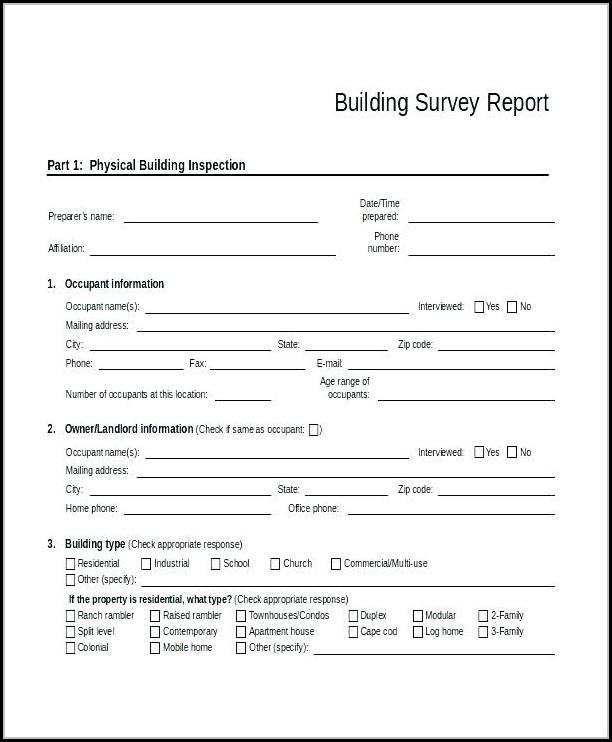 Condo Inspection Report Template