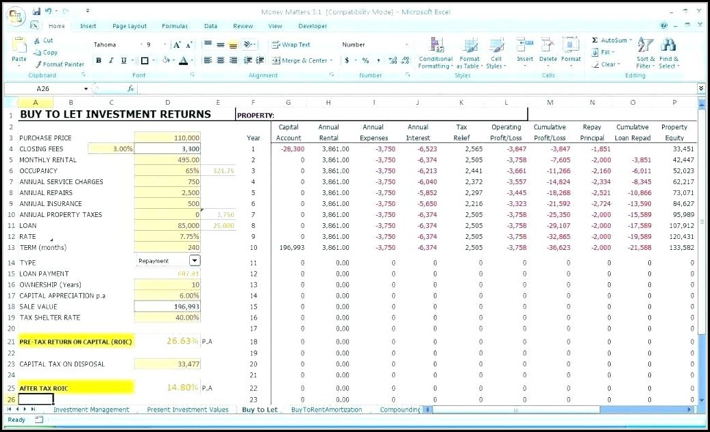 Daily Income And Expense Report Template