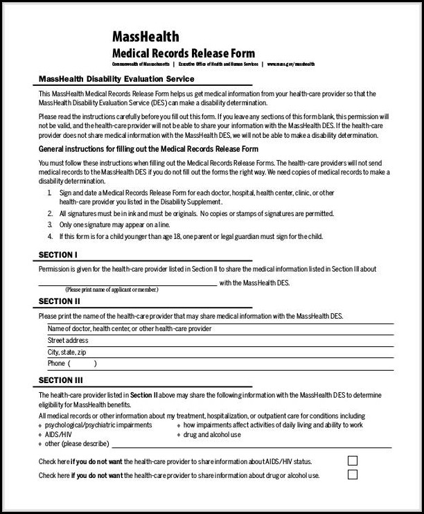 Disability Form For Doctor To Fill Out