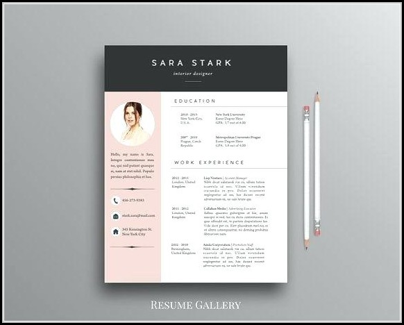 Downloadable Free Creative Resume Templates