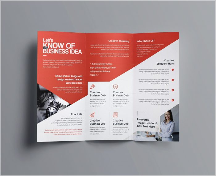 Drug Abuse Brochure Template