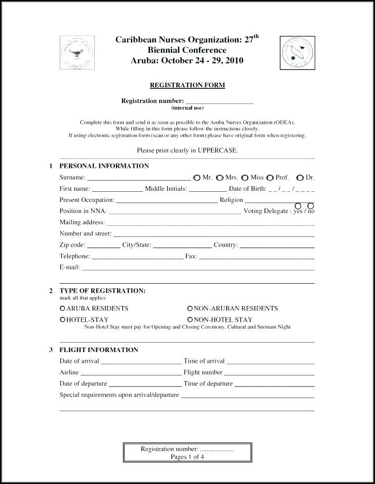 employee registration form template free download job applications