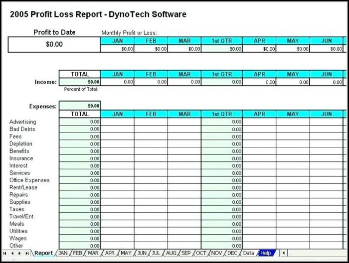 Event Income And Expense Report Template