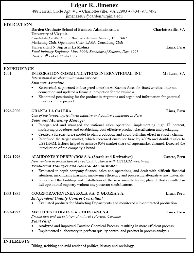 Examples Of Good Resumes For Jobs Resume Resume Examples Wg28b00kge