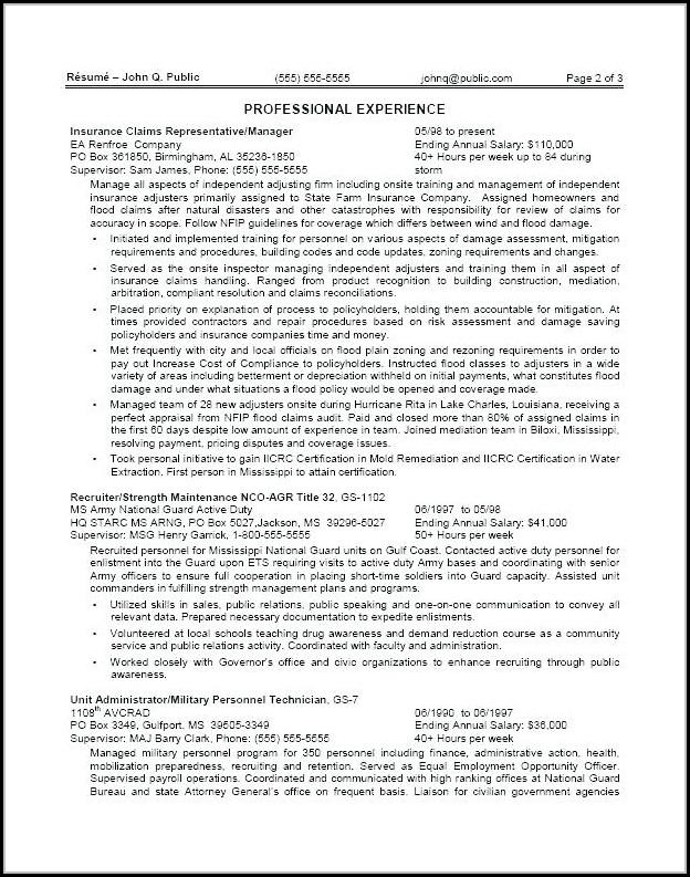 Federal Resume Writers San Diego
