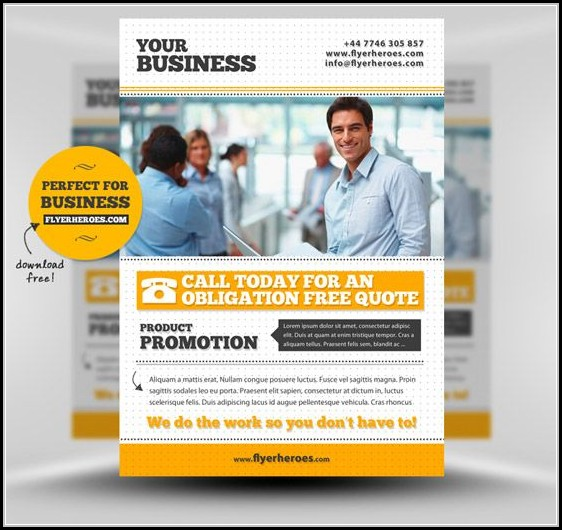Free Business Flyers Design Templates