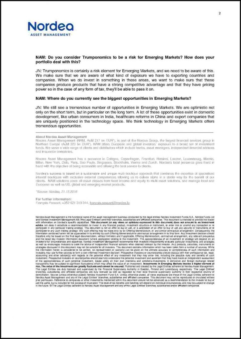Free Real Estate Offering Memorandum Template - Template 2
