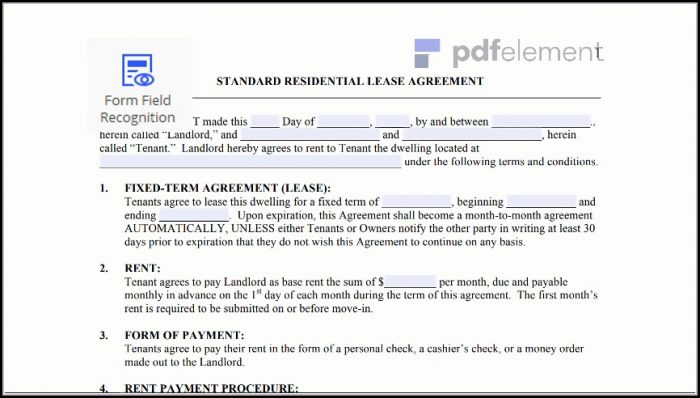 Free Residential Lease Agreement Template (22)