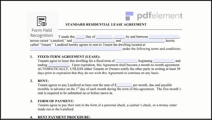 Free Residential Lease Agreement Template (6)
