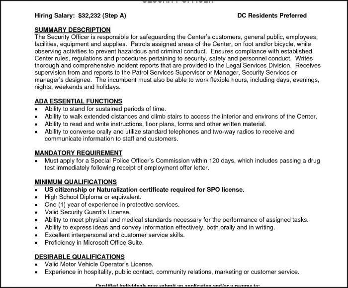 G4s Job Application Form