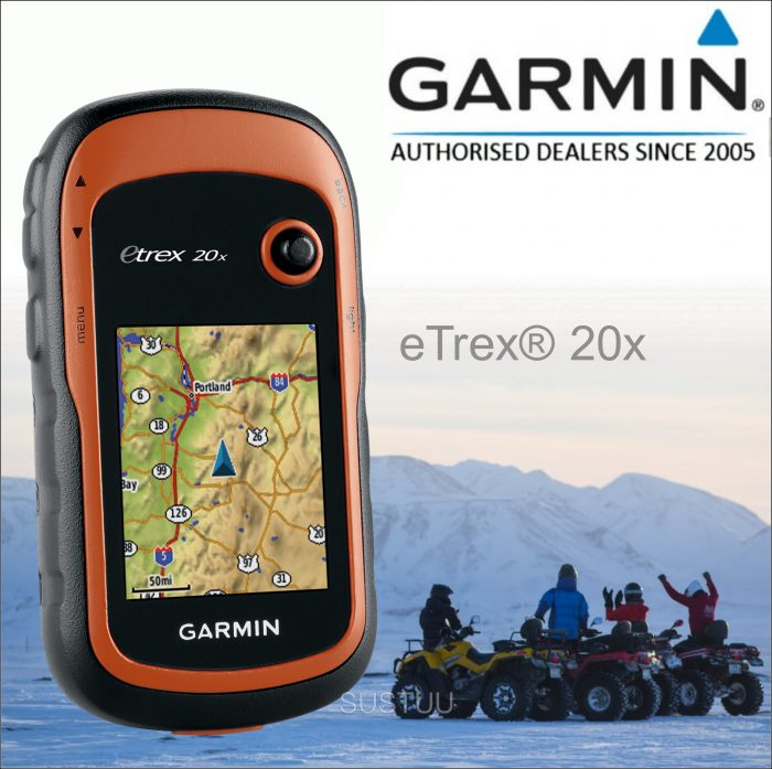 Garmin Etrex 20x Maps