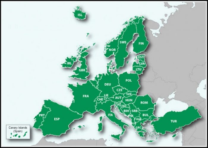 Garmin Europe Maps Coverage