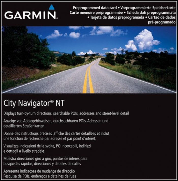 Garmin North America Maps 2018