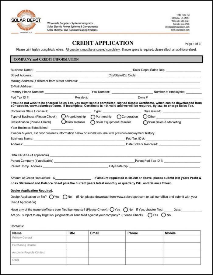 Home Depot Application For Job