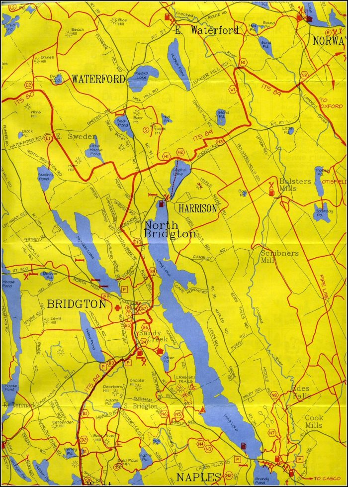 Maine Snowmobile Trail Maps
