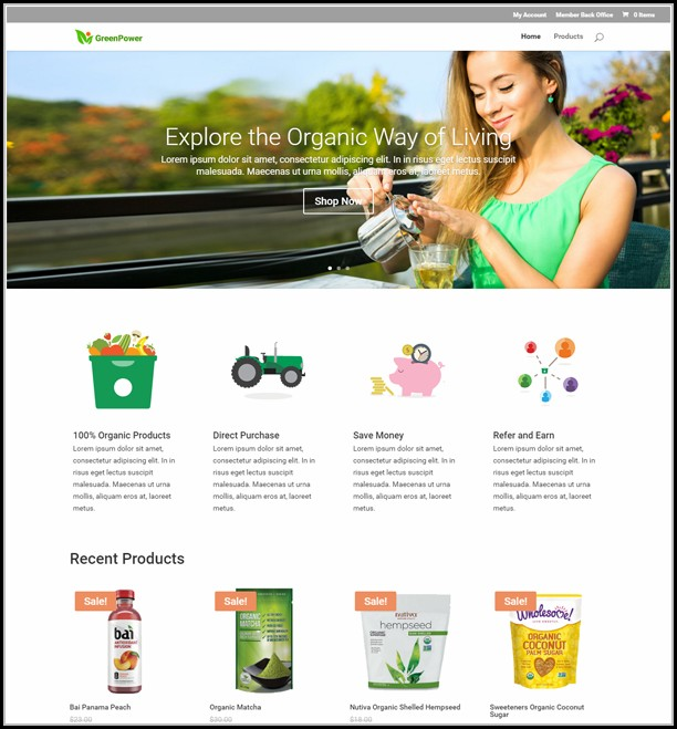 Mlm Website Templates