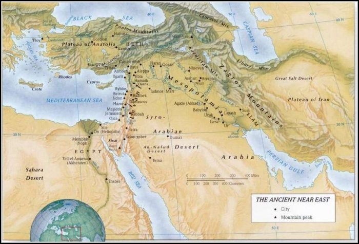 Old Testament Bible Maps And Charts