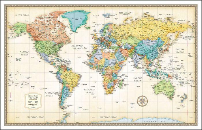 Rand Mcnally Paper Maps
