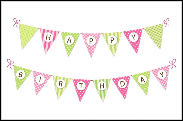 Birthday Banner Template Free Download