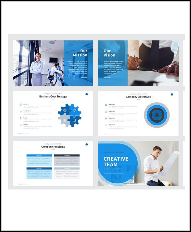 Business Proposal Template Psd Free