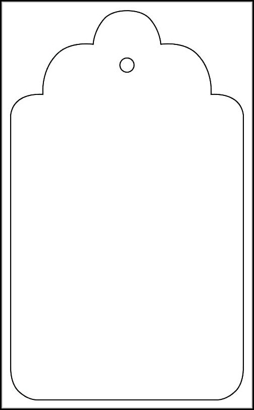Car Hang Tag Template