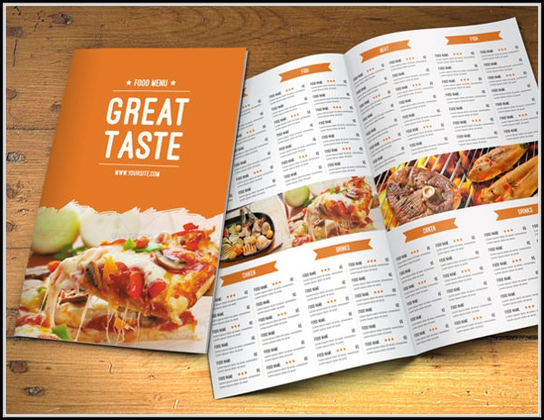 Catering Menu Templates Free Download
