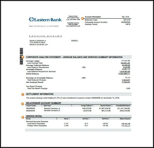 Create Fake Bank Statement Template