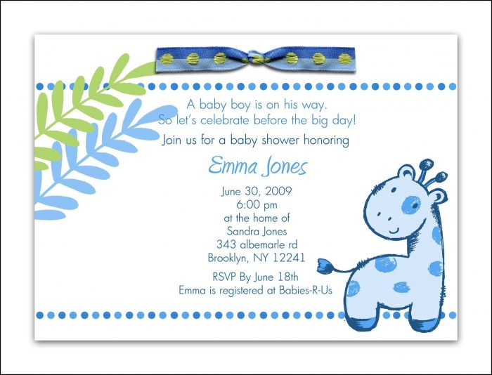 Elephant Baby Shower Invite Template Template 1 Resume Examples