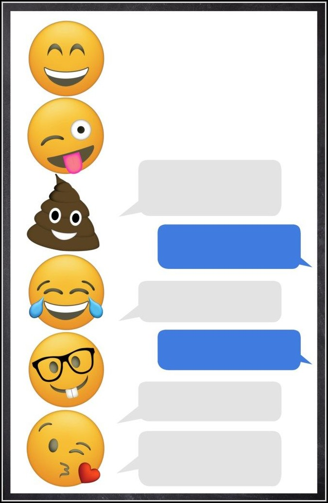 Emoji Party Invitation Template