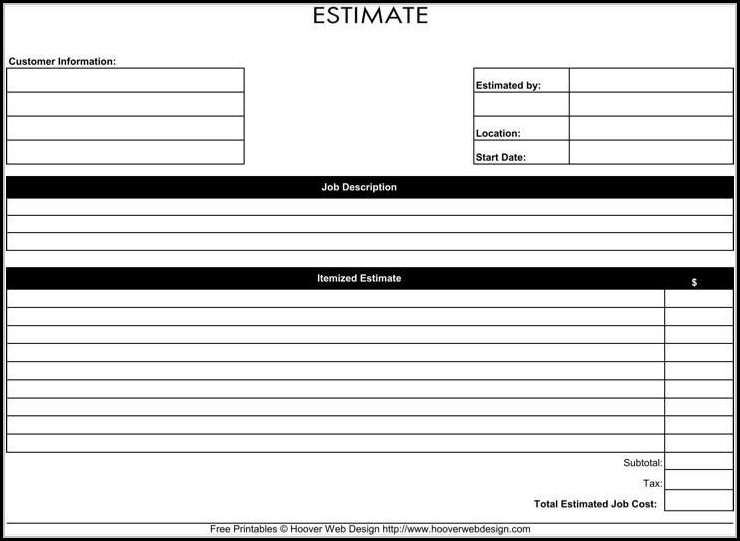 picture relating to Free Roofing Estimate Forms Printable named Cost-free Roofing Work out Kinds Printable - Sort : Resume