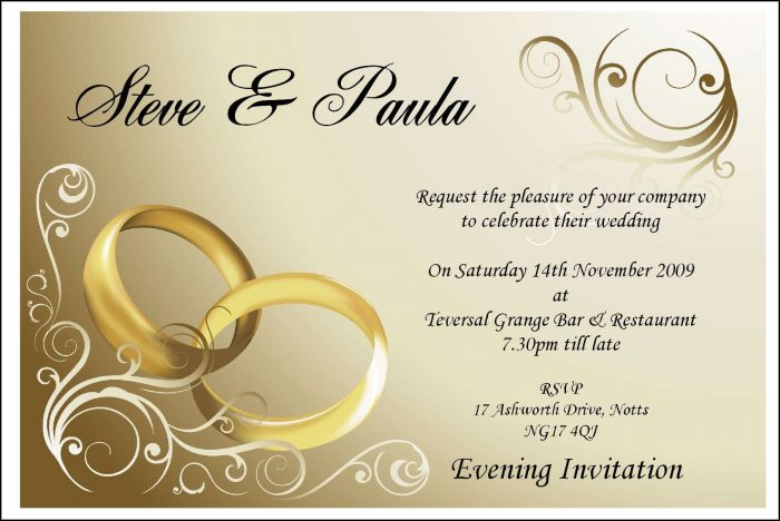 Free Wedding Ecards Invitation Templates