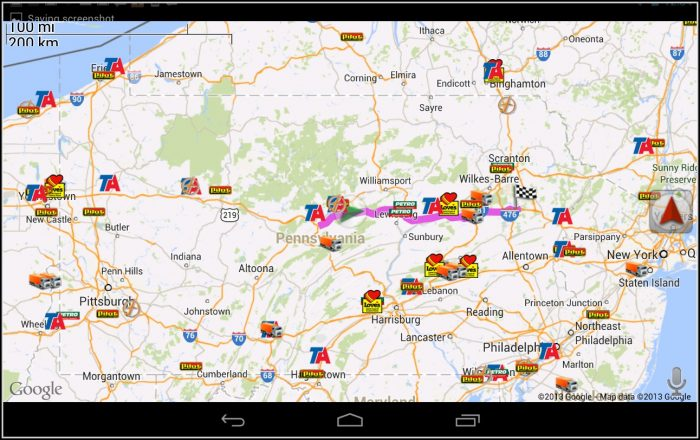 Google Maps For Semi Trucks