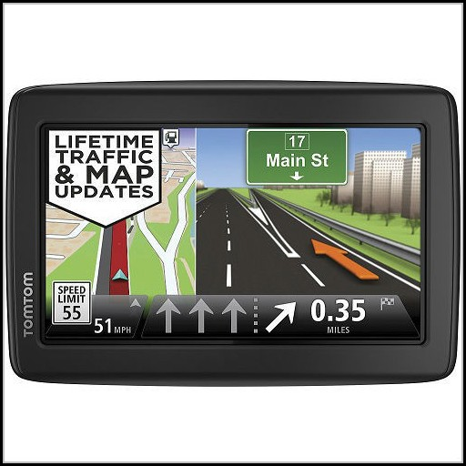 Gps With Lifetime Maps And Traffic Updates
