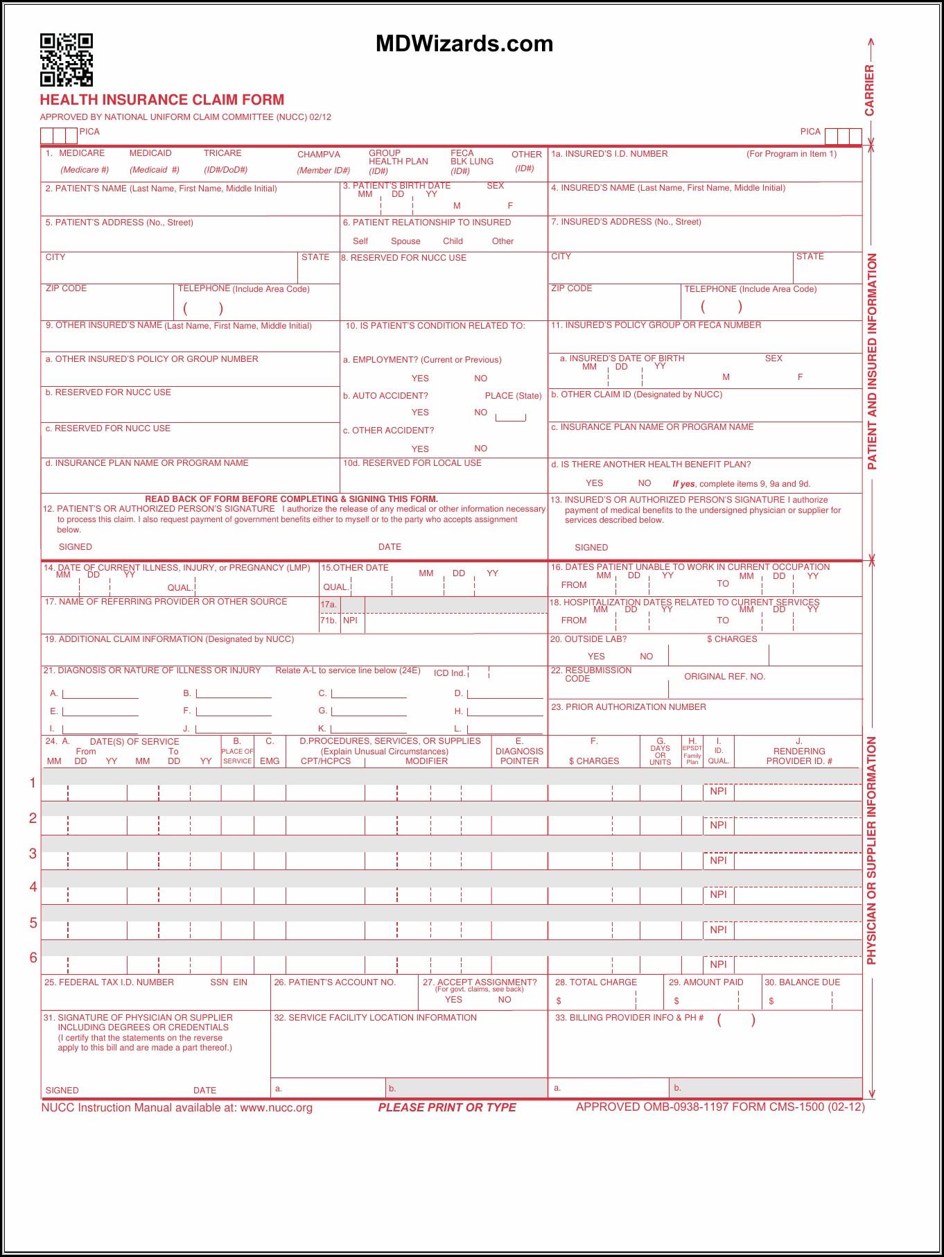 1500 pdf hcfa