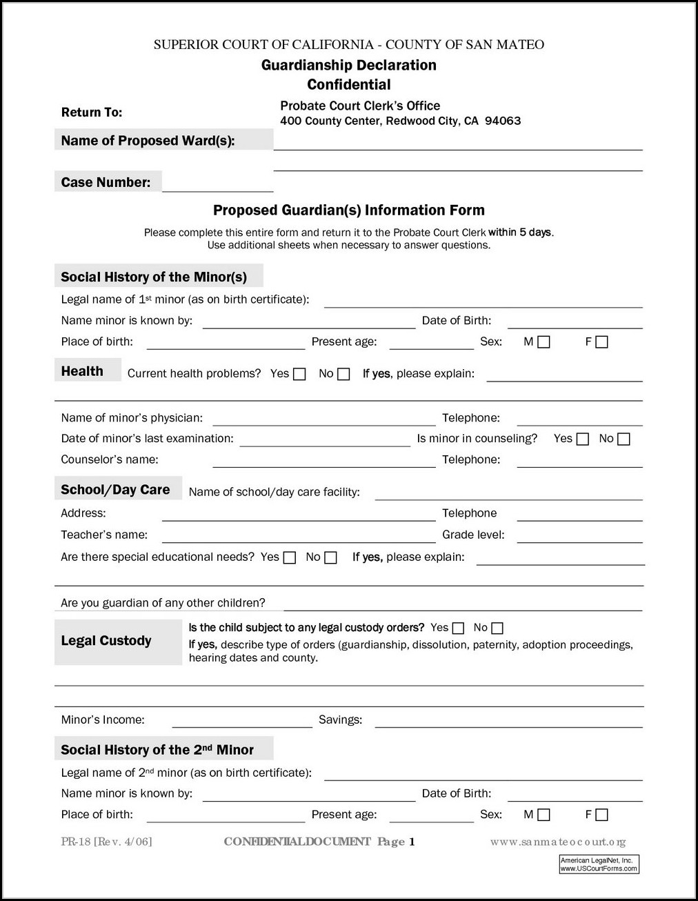 photo about Free Printable Temporary Guardianship Form referred to as Indiana Short-term Guardianship Type - Variety : Resume Illustrations