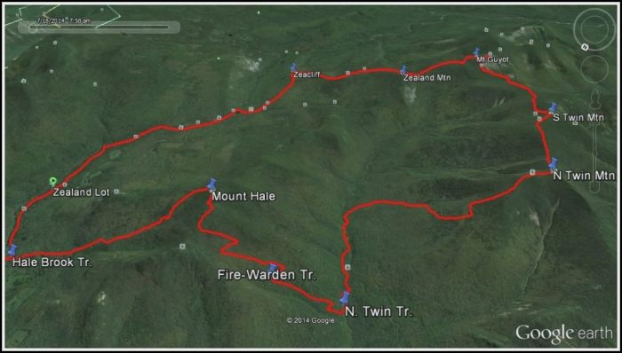 Maine Hiking Trail Maps