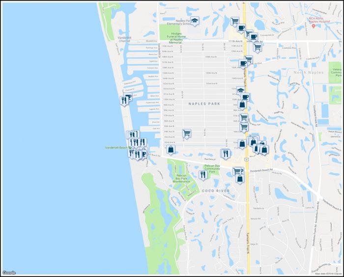 Map Of Naples Florida Neighborhoods